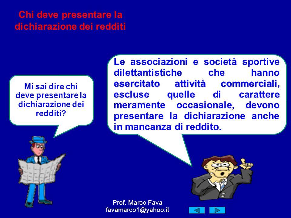 Grazie per lattenzione Prof. Marco Fava favamarco1@yahoo.it