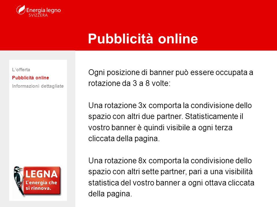 www.energia-legno.ch La conveniente piattaforma pubblicitaria per i partner della campagna!