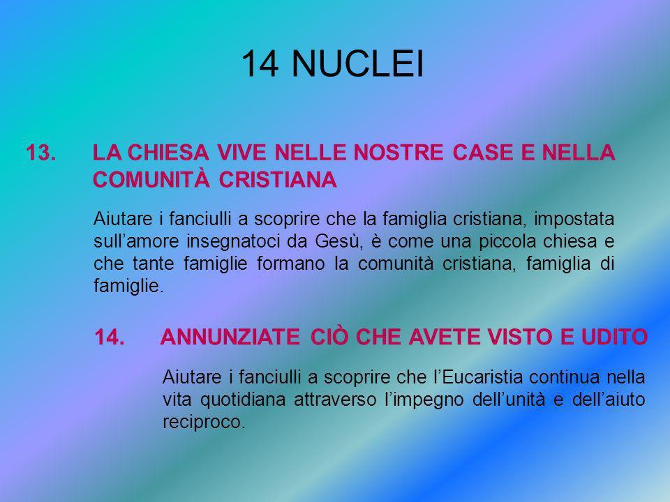 14 NUCLEI 13.