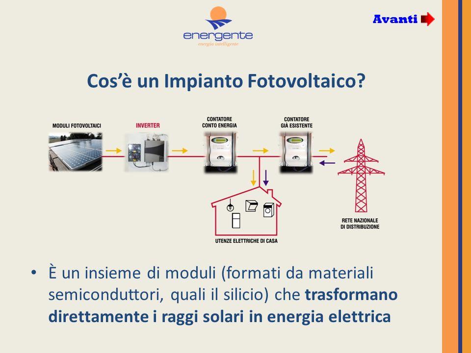 Cosè un Impianto Fotovoltaico.