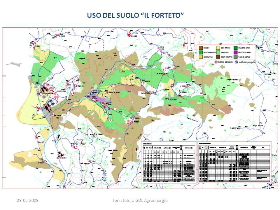29-05-2009Terrafutura GDL Agroenergie USO DEL SUOLO IL FORTETO