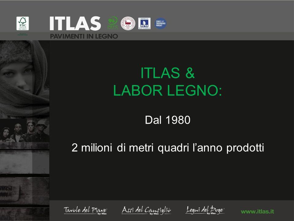 ITLAS & LABOR LEGNO: Dal 1980 2 milioni di metri quadri lanno prodotti