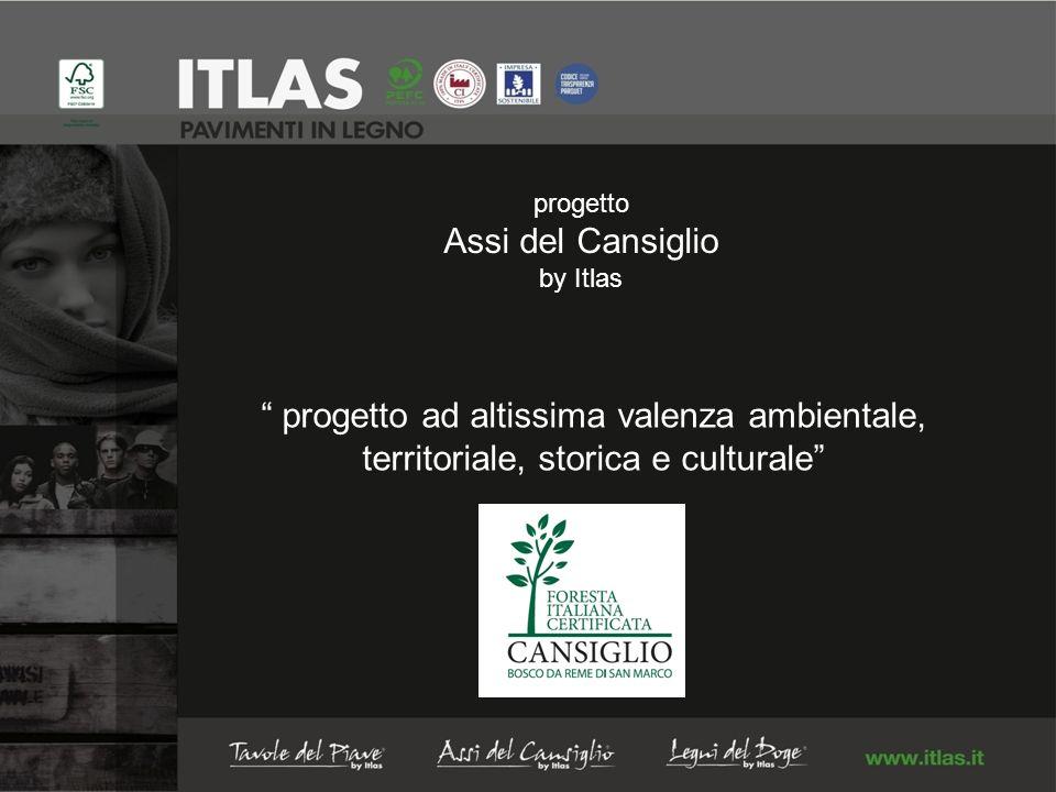 progetto Assi del Cansiglio by Itlas progetto ad altissima valenza ambientale, territoriale, storica e culturale