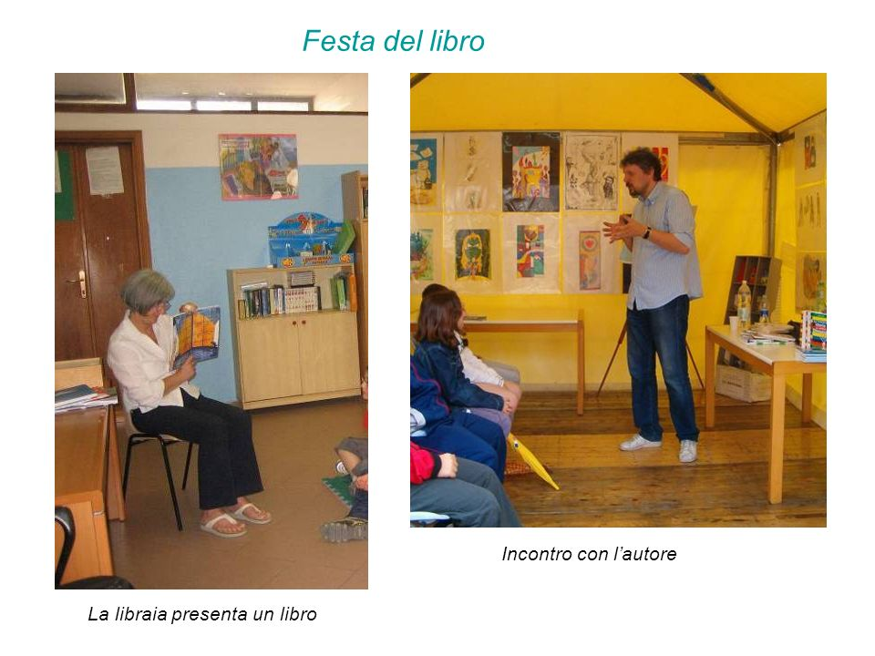 Festa del libro Incontro con lautore La libraia presenta un libro