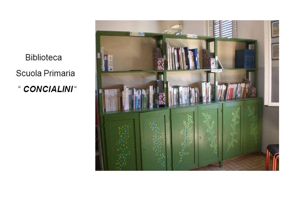 Biblioteca Scuola Primaria CONCIALINI