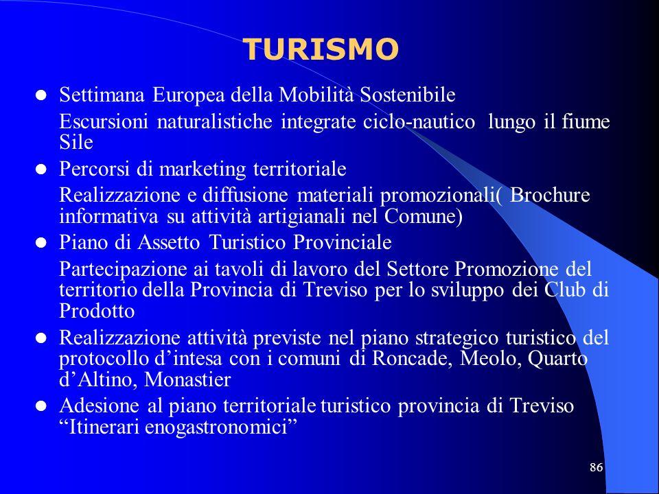 86 Settimana Europea della Mobilità Sostenibile Escursioni naturalistiche integrate ciclo-nautico lungo il fiume Sile Percorsi di marketing territoria