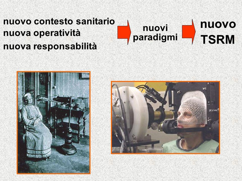 nuovo contesto sanitario nuova operatività nuova responsabilità nuovo TSRM nuovi paradigmi