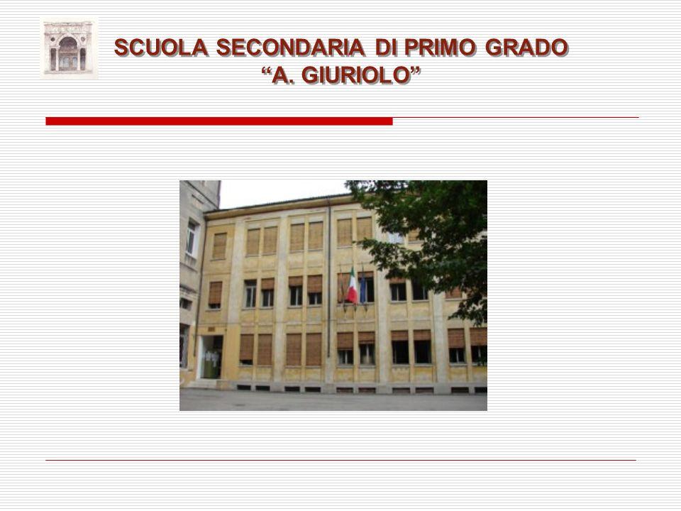 SCUOLA SECONDARIA DI PRIMO GRADO A. GIURIOLO