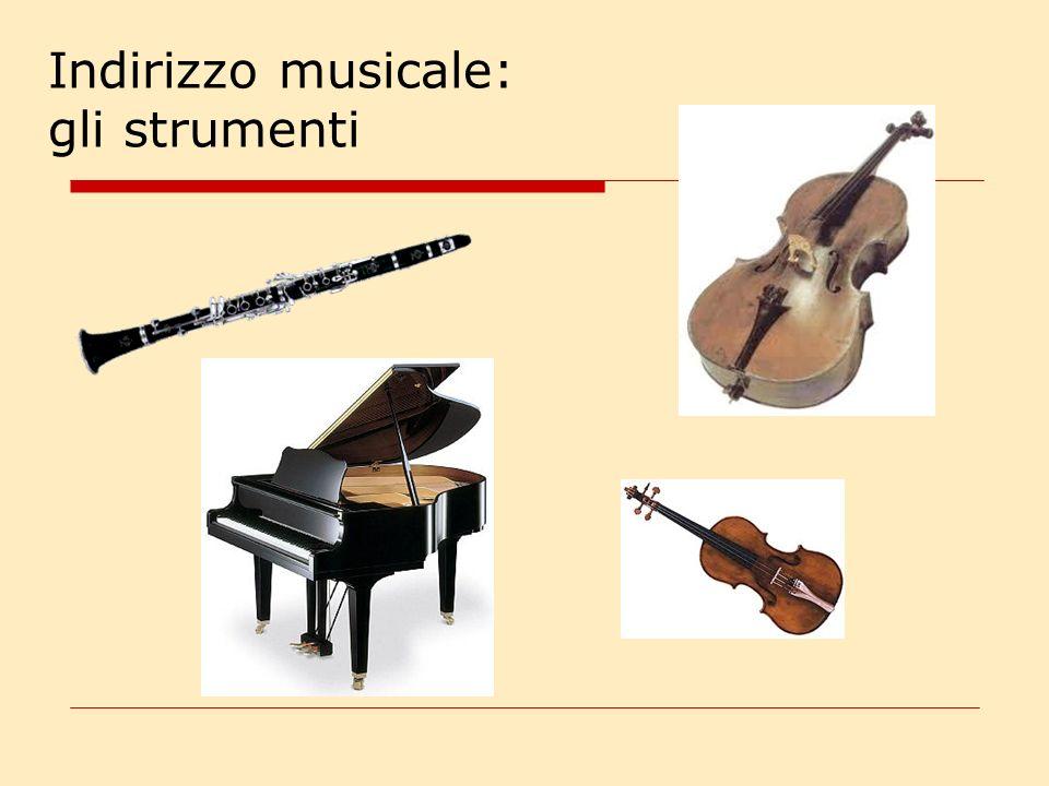 Indirizzo musicale: come.