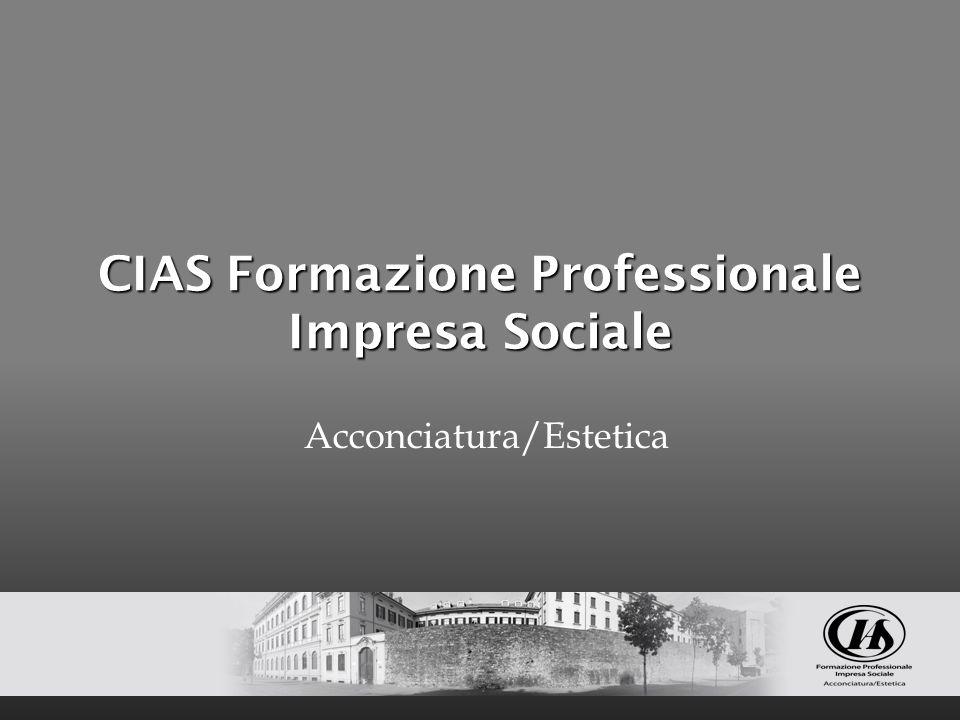 La nostra storia il CIAS Formazione Professionale Impresa Sociale opera sul territorio comasco da 30 anni nasce come scuola privata per acconciatori con la frequenza di un giorno alla settimana dall anno 1987 offre corsi biennali regionali ex art.27 della legge 95/80
