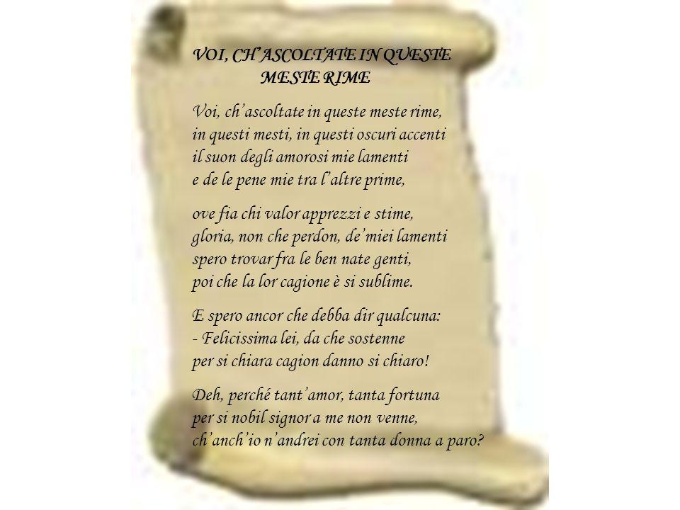 Gaspara Stampa Novella Saffa è stata definita lunica poetessa che troviamo nel periodo rinascimentale: la nobile Gaspara Stampa.