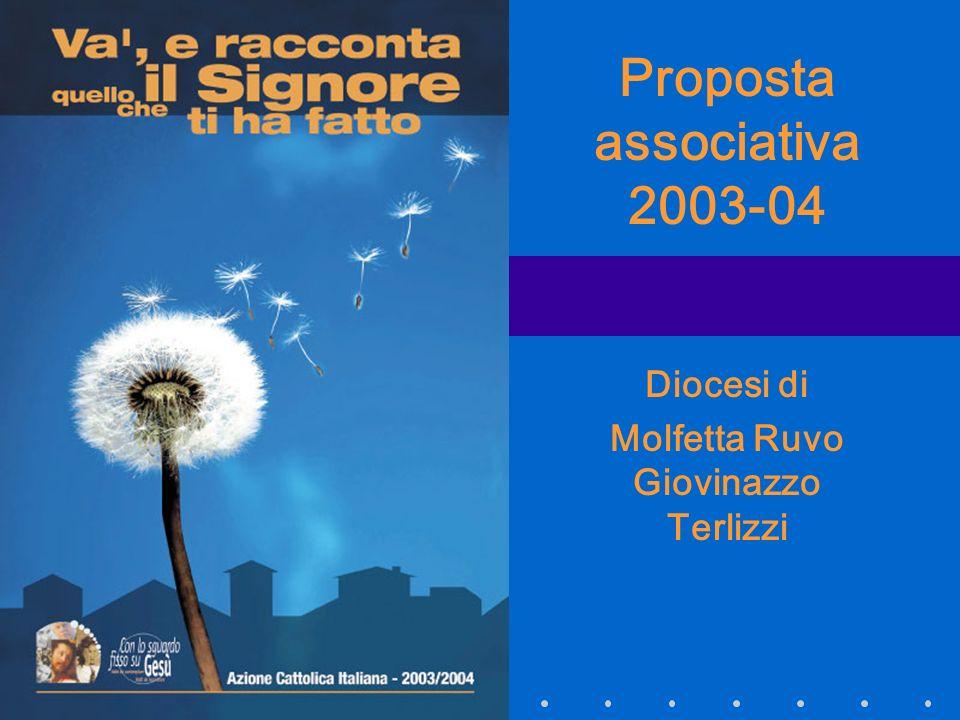 Proposta associativa 2003-04 Diocesi di Molfetta Ruvo Giovinazzo Terlizzi