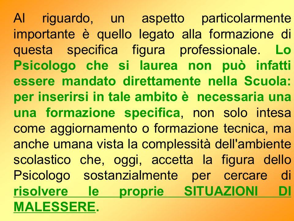 Dopo opportuna consultazione con il consulente dellOrdine degli Psicologi dellEmilia-Romagna, Avv.