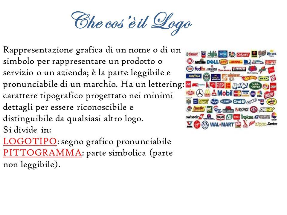 Rappresentazione grafica di un nome o di un simbolo per rappresentare un prodotto o servizio o un azienda; è la parte leggibile e pronunciabile di un