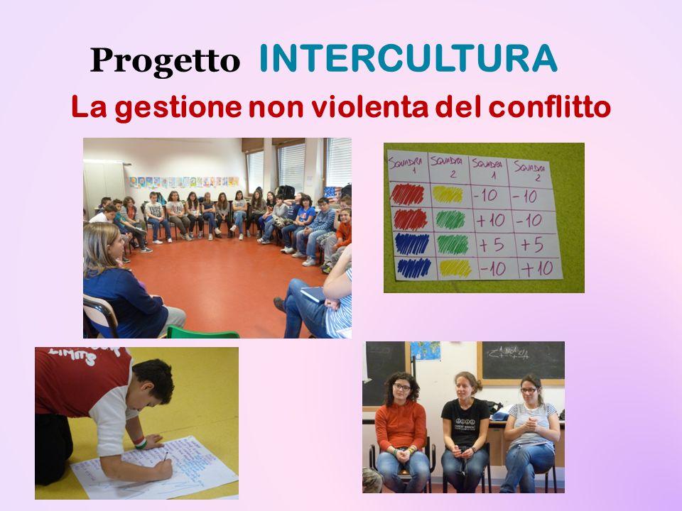 Progetto INTERCULTURA La gestione non violenta del conflitto