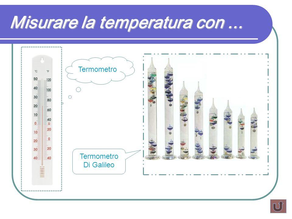 Misurare la temperatura con... Termometro Di Galileo