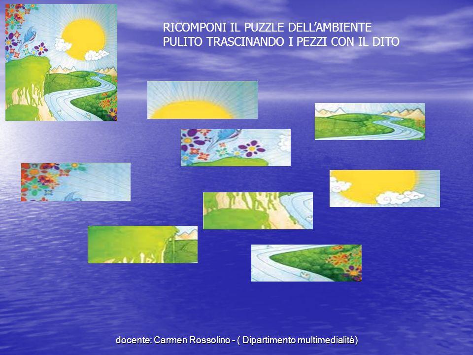 Ambiente non sano docente: Carmen Rossolino - ( Dipartimento multimedialità)