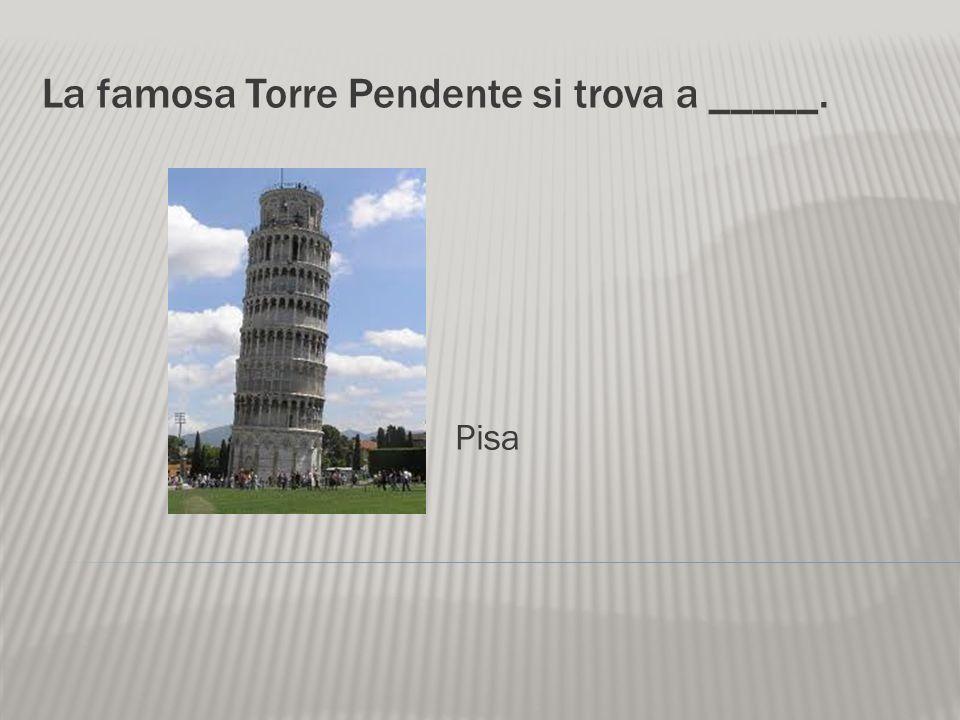 La città italiana famosa per le automobili è ______. Torino