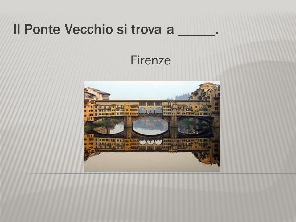 La famosa Torre Pendente si trova a _____. Pisa