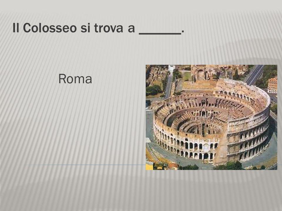 La lupa è il simbolo della città di _______. Roma