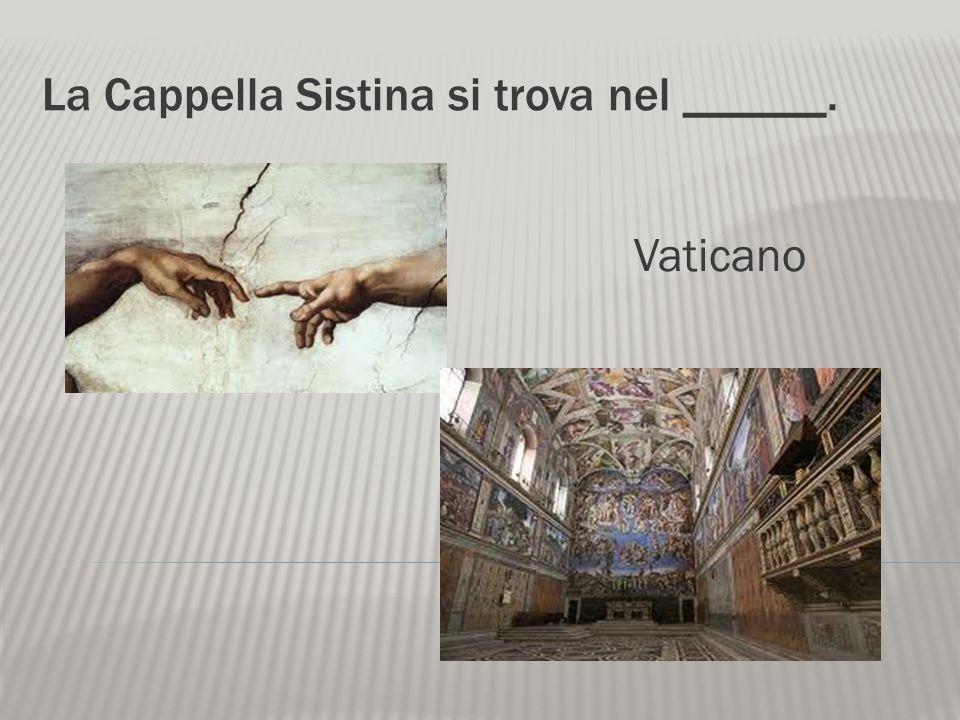 Il Vaticano si trova a _____. Roma