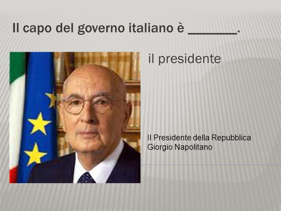 La forma del governo italiano oggi è _____. una repubblica