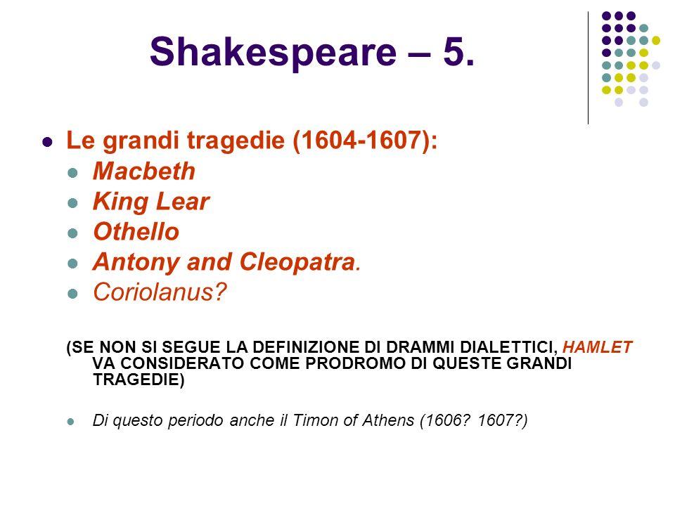 SHAKESPEARE – 6.