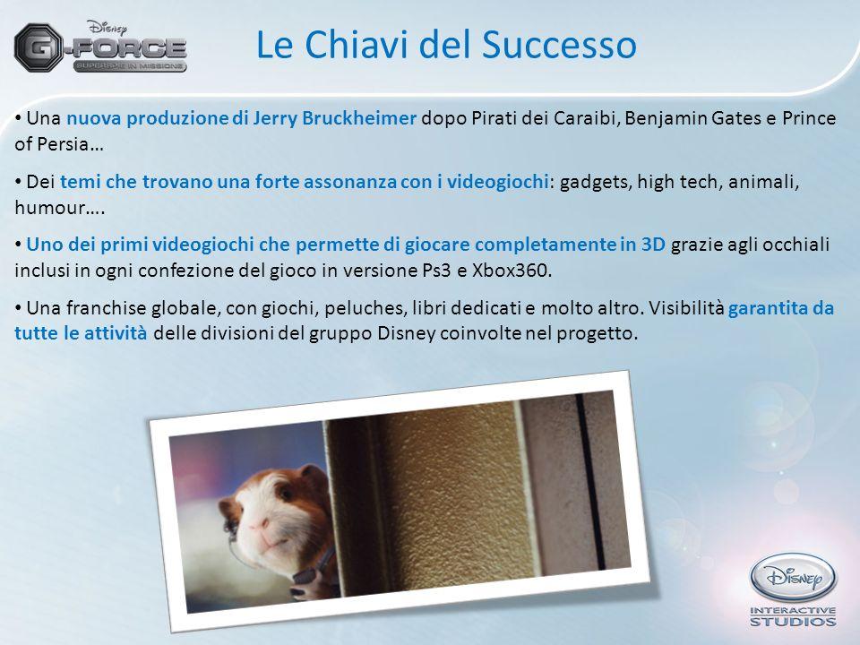 Le Chiavi del Successo Una nuova produzione di Jerry Bruckheimer dopo Pirati dei Caraibi, Benjamin Gates e Prince of Persia… Dei temi che trovano una