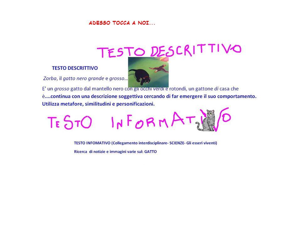 ADESSO TOCCA A NOI...