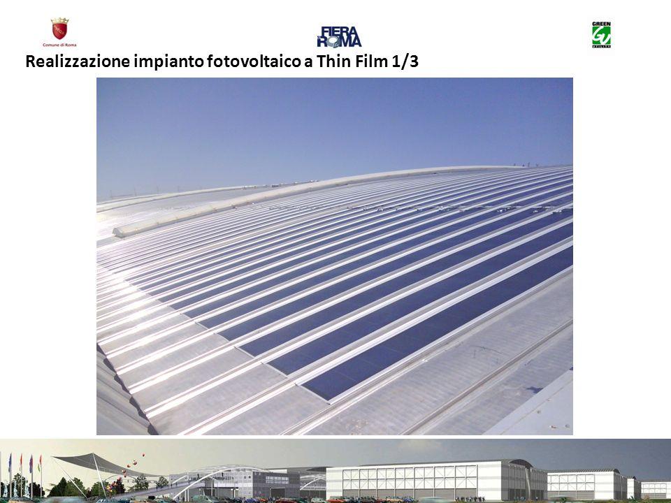 Realizzazione impianto fotovoltaico a Thin Film 1/3