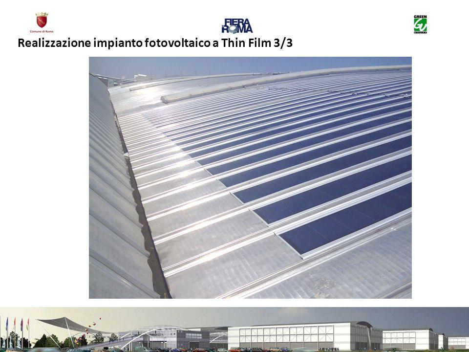 Realizzazione impianto fotovoltaico a Thin Film 3/3