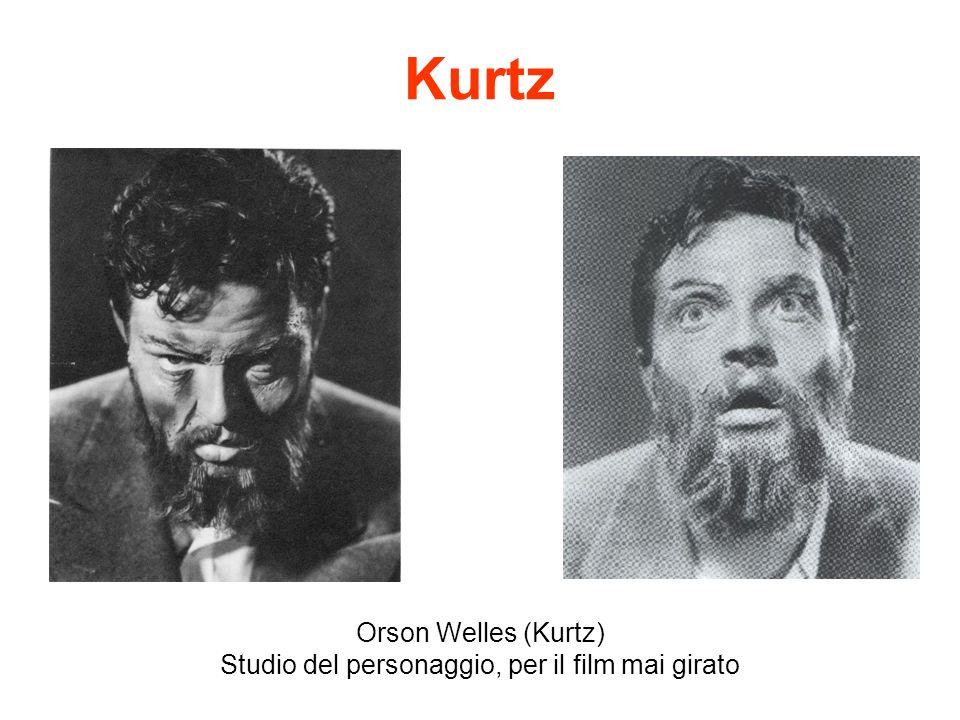 Kurtz Orson Welles (Kurtz) Studio del personaggio, per il film mai girato