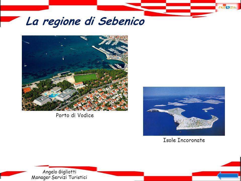 Angelo Gigliotti Manager Servizi Turistici La regione di Sebenico Isole Incoronate Porto di Vodice