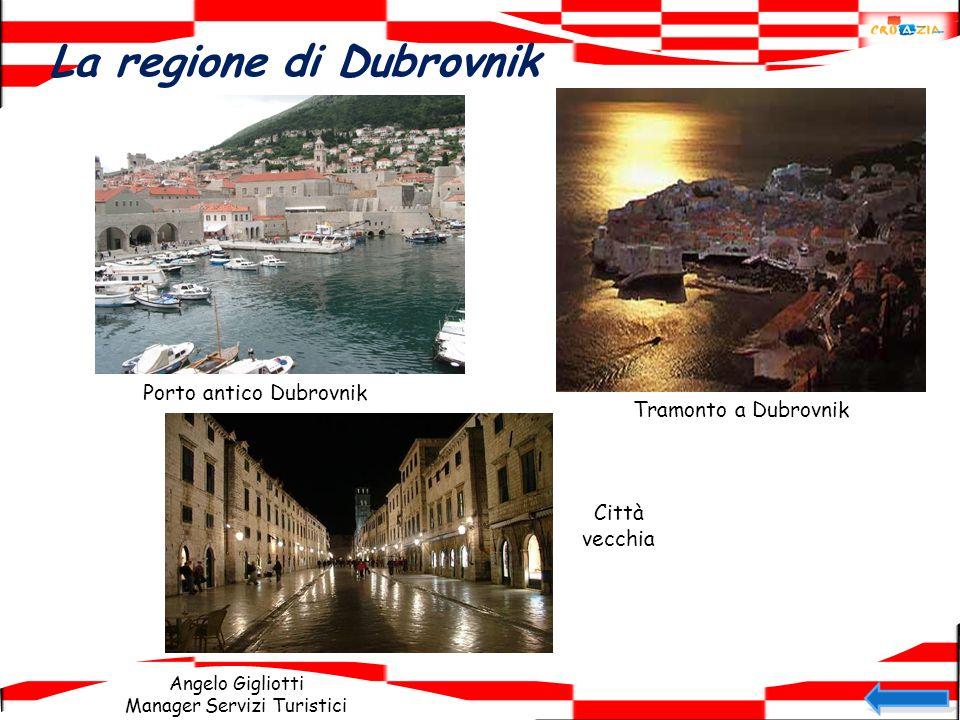 Angelo Gigliotti Manager Servizi Turistici La regione di Dubrovnik Porto antico Dubrovnik Tramonto a Dubrovnik Città vecchia