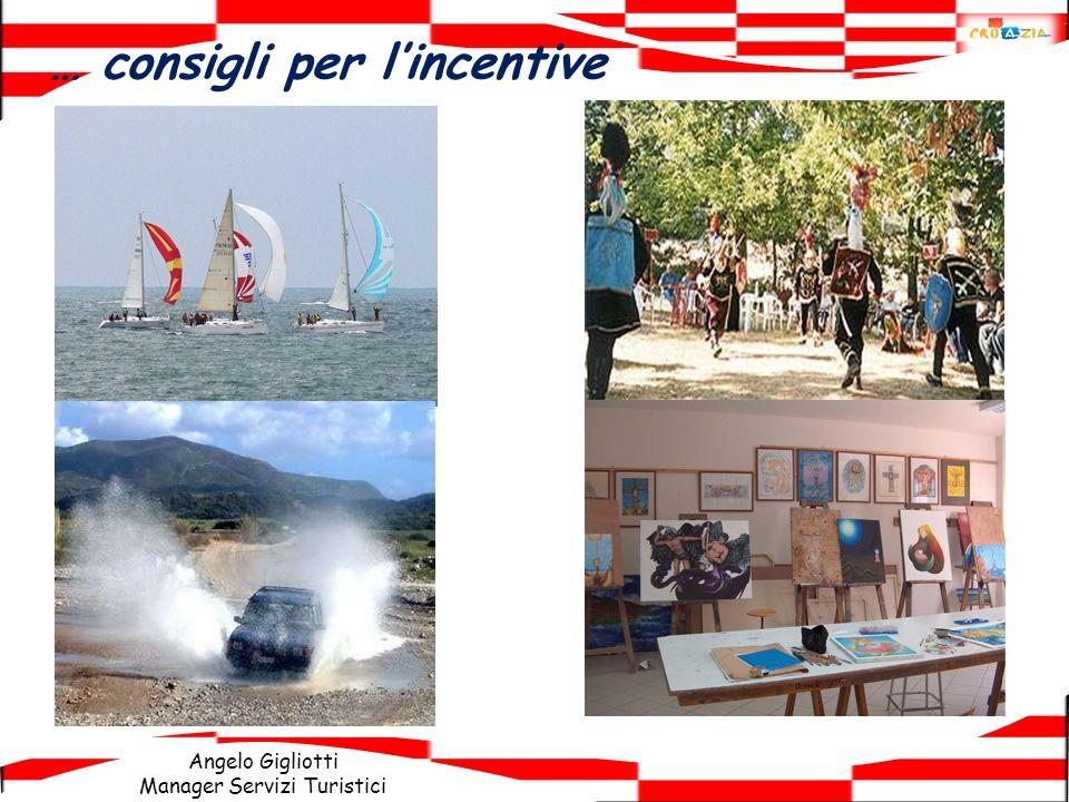 Angelo Gigliotti Manager Servizi Turistici … consigli per lincentive