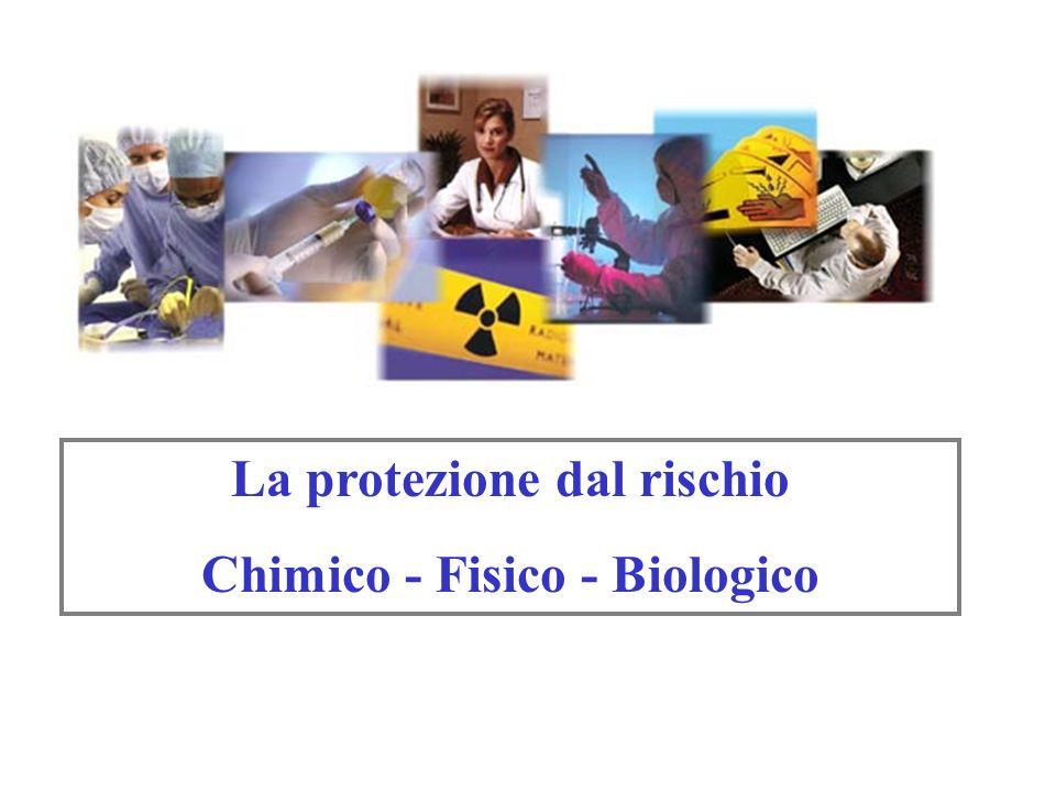 La protezione dal rischio Chimico - Fisico - Biologico