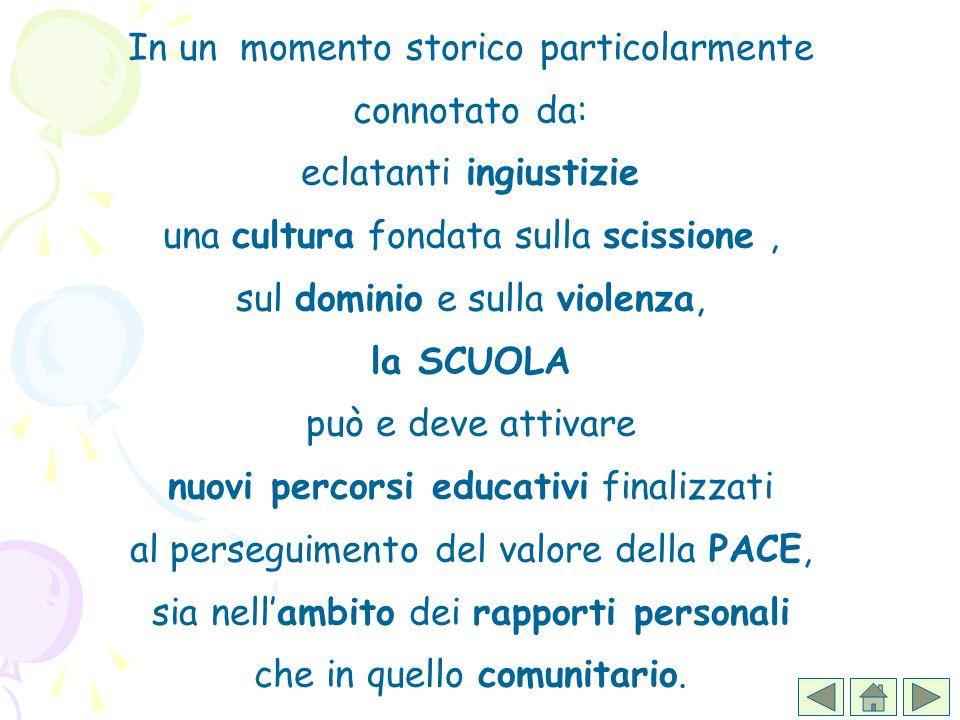 Appare importante incentivare nella scuola una cultura della memoria, dellautobiografia, dellattenzione per le storie di vita altrui.