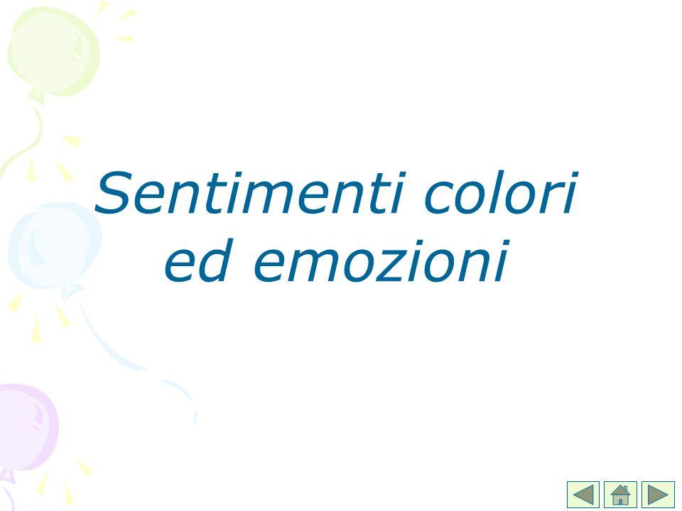 Sentimenti colori ed emozioni