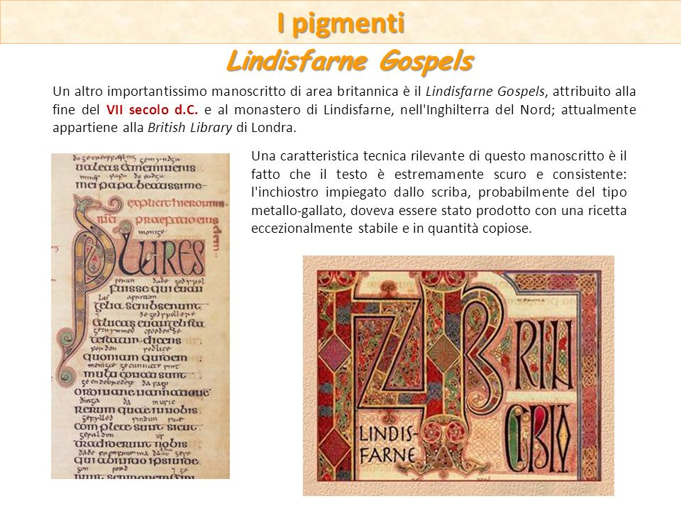 Una caratteristica tecnica rilevante di questo manoscritto è il fatto che il testo è estremamente scuro e consistente: l'inchiostro impiegato dallo sc