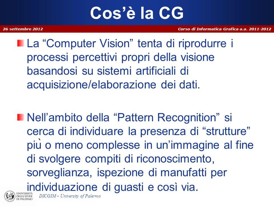 Corso di Informatica Grafica a.a.