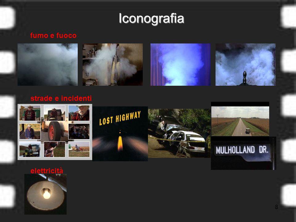 8 Iconografia fumo e fuoco strade e incidenti elettricità
