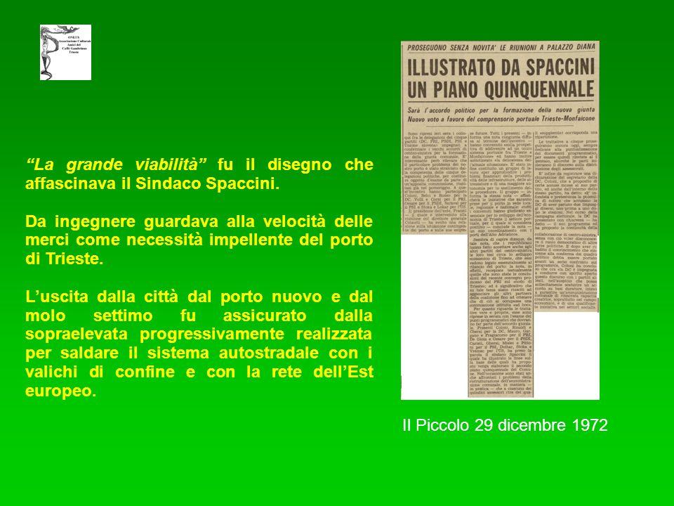 La grande viabilità fu il disegno che affascinava il Sindaco Spaccini.
