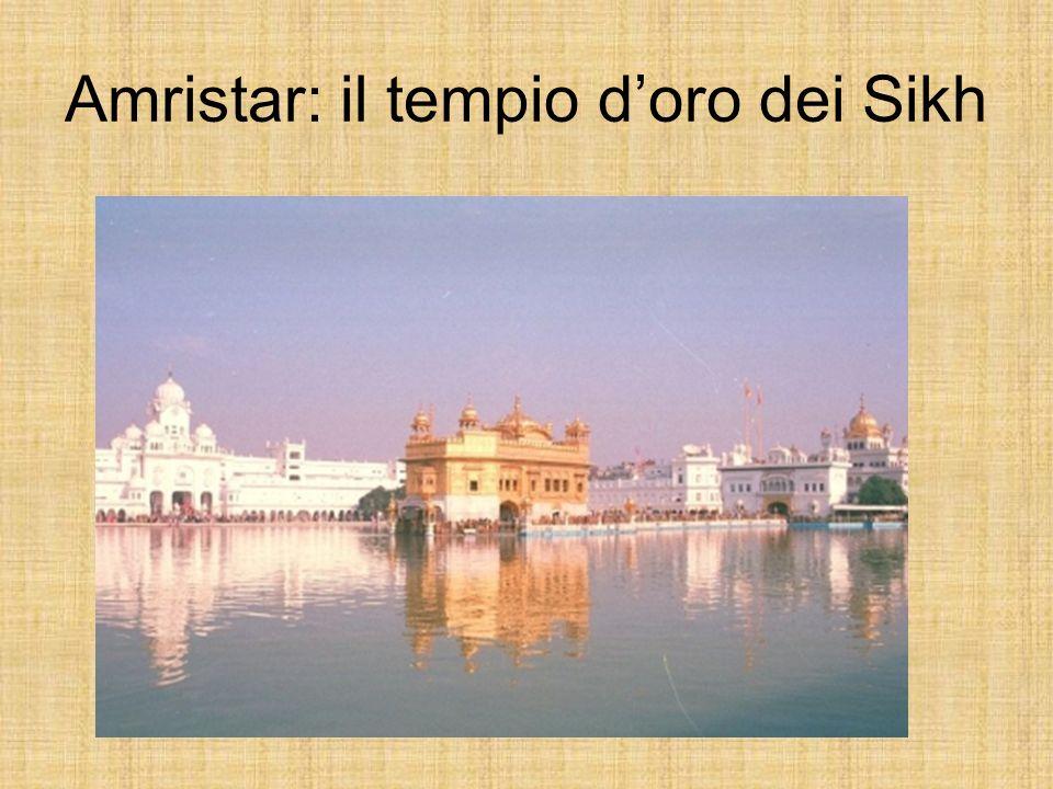 Amristar: il tempio doro dei Sikh