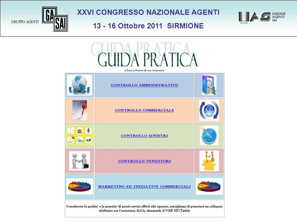 XXVI CONGRESSO NAZIONALE AGENTI 13 - 16 Ottobre 2011 SIRMIONE VOIP 999 199.185.153