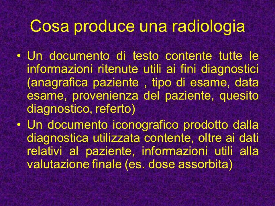 Benefici organizzativi E possibile riprodurre l immagine, anche in luoghi diversi da quelli in cui si è svolto l esame, senza alcuna degradazione permettendo di venire consultata da più medici simultaneamente.