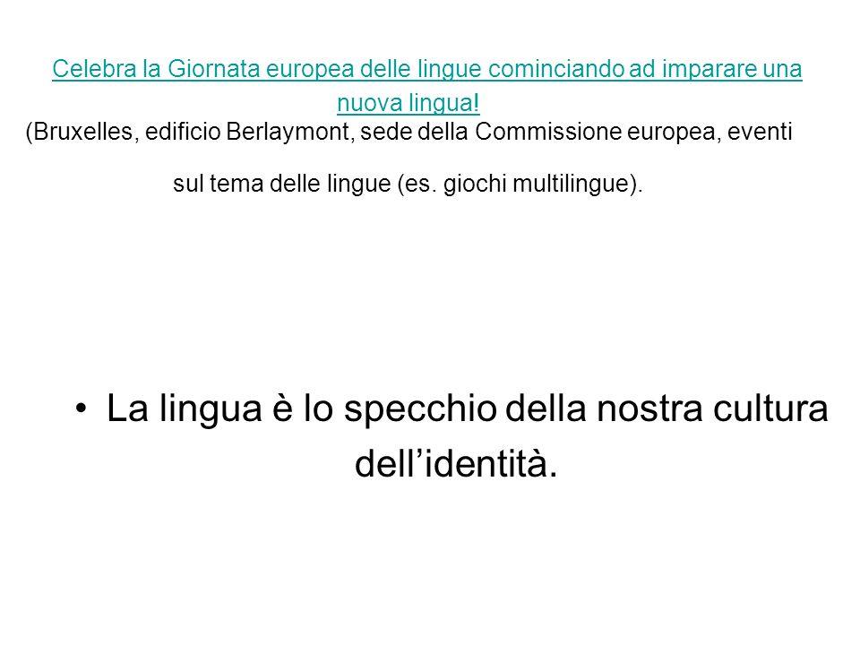 Celebra la Giornata europea delle lingue cominciando ad imparare una nuova lingua.