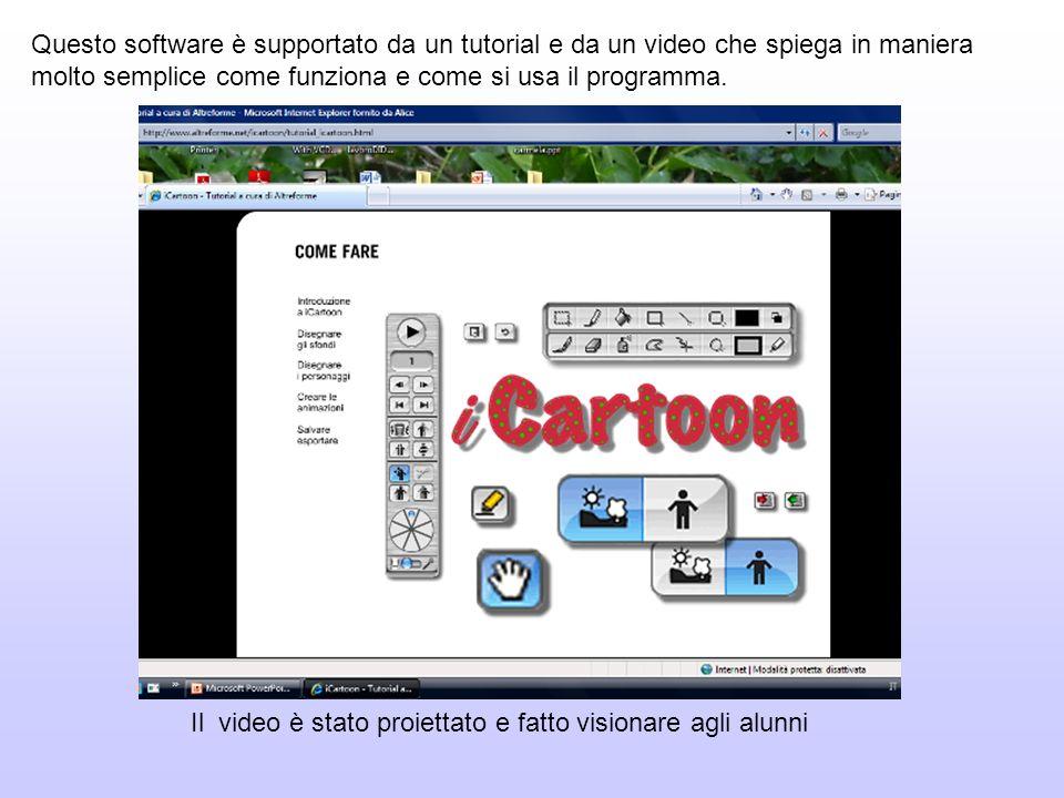 Questo software è supportato da un tutorial e da un video che spiega in maniera molto semplice come funziona e come si usa il programma. Il video è st