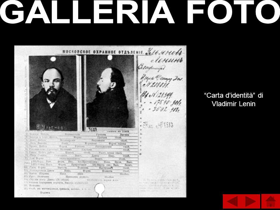 Carta didentità di Vladimir Lenin