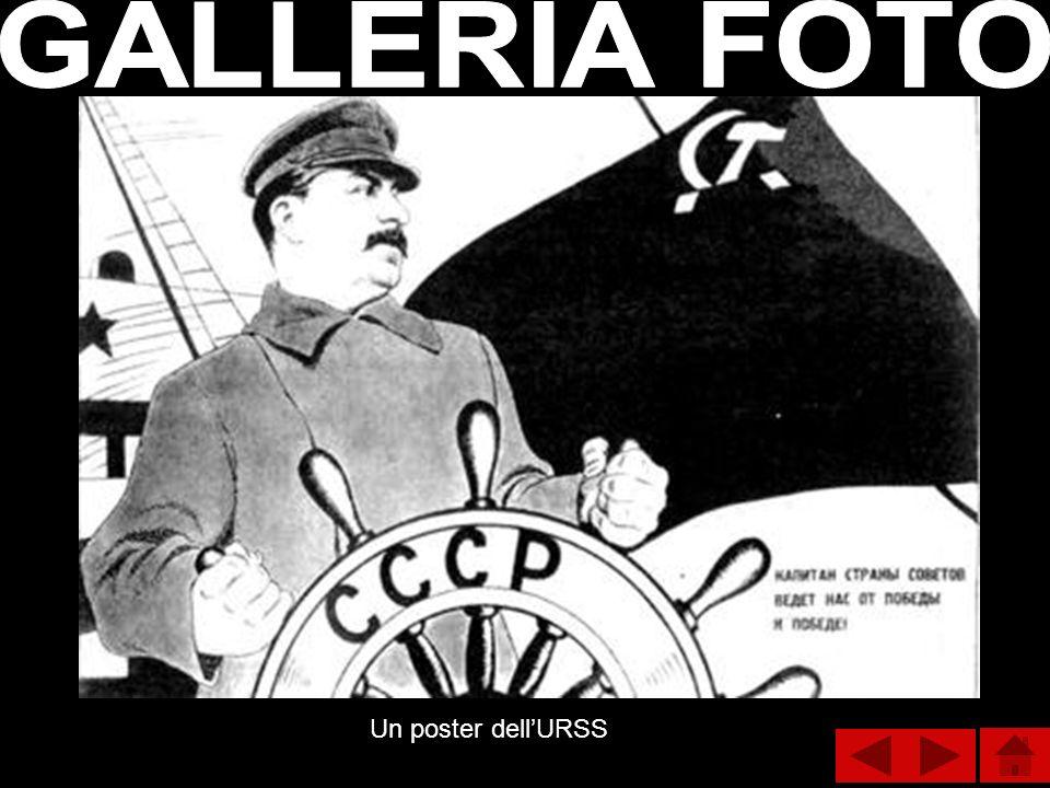 Un poster dellURSS