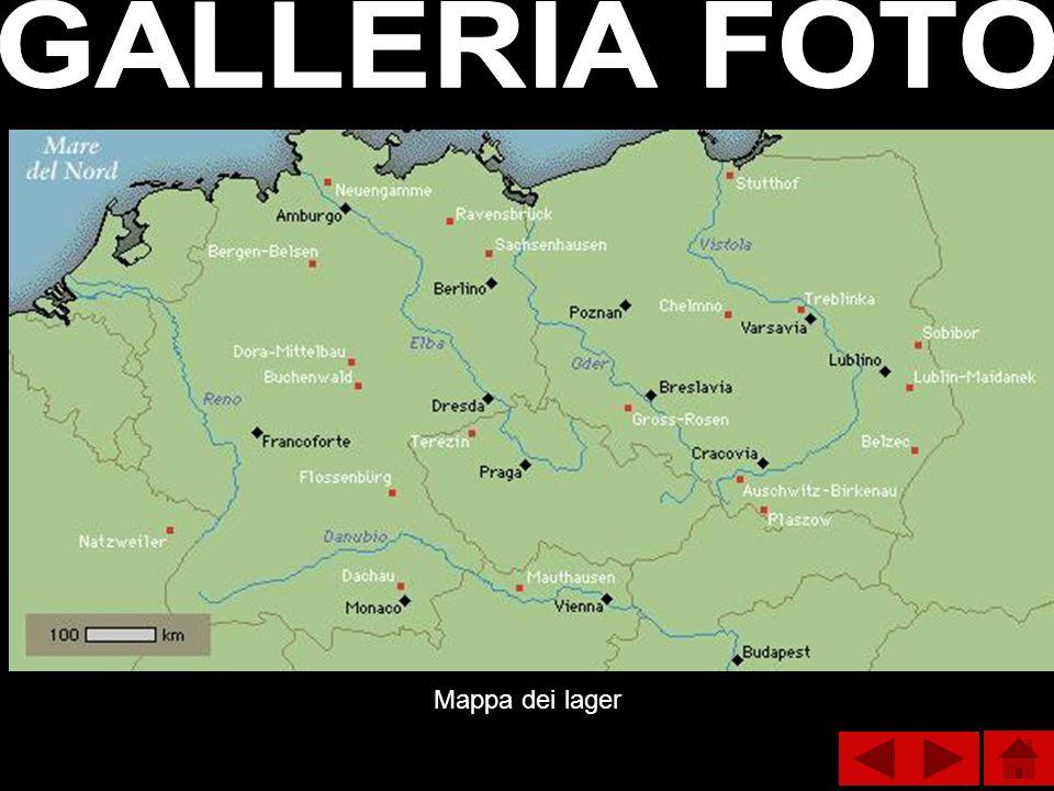 Mappa dei lager